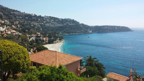Le Roquebrune: Vista dall'hotel