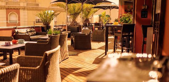 La Terrassa Picture Of Hotel Villa Emilia Barcelona