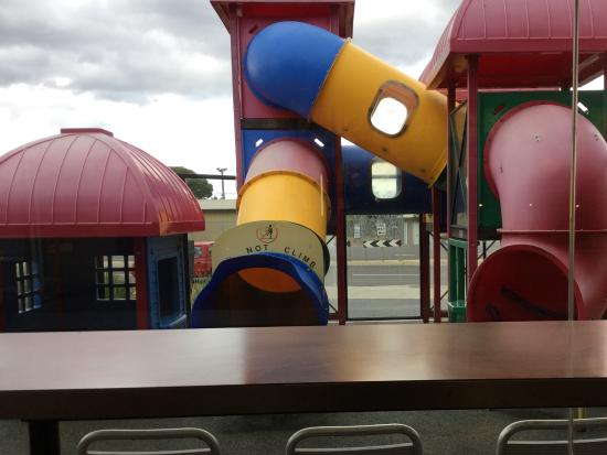 Kids play area Red Rooster Sunbury