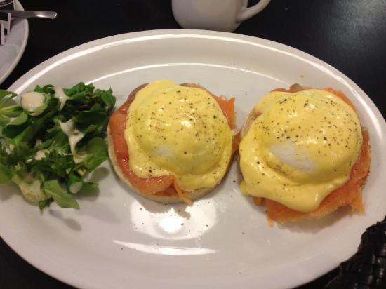 Eggs Benedict Cafe Wimbledon Menu