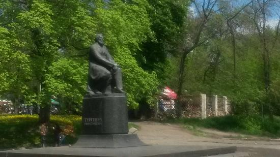Monument to I.S.Turgenev