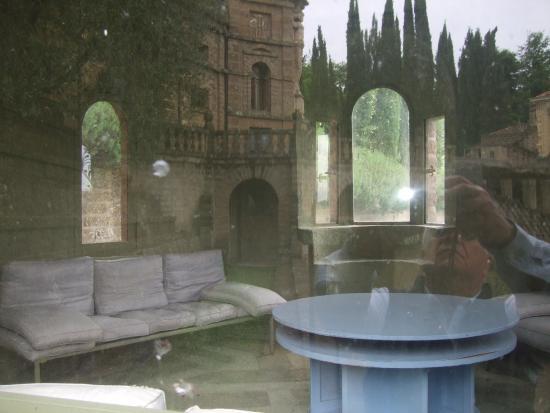 La Scarzuola: stanzetta posta all'ingresso del laghetto
