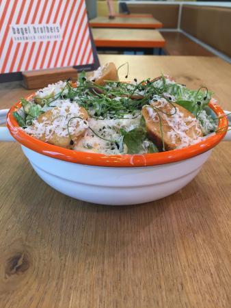 Bagel Brothers: Caesars Salad