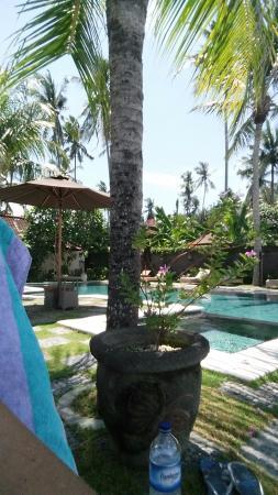 Hotel Genggong at Candidasa: Pool area