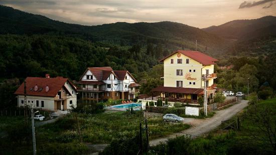 Cisnadioara, Rumania: Casa Soarelui