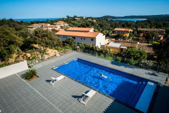 Location pinarello apartment reviews price comparison for Appart hotel porto vecchio
