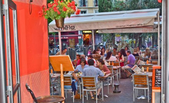 Le Mélo : La terrasse du Mélo café