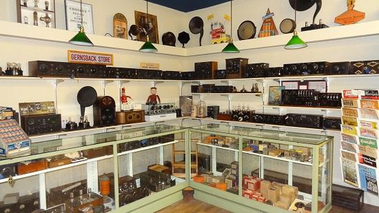 Bloomfield, Estado de Nueva York: 1925 Radio Store Exhibit