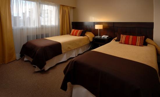 Hotel Carlos V Patagonia Bariloche: Habitación Doble Twin
