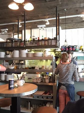 the kitchen - picture of sea salt saloon, utrecht - tripadvisor