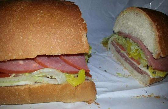 Terry's Sub Shop: TERRY'S SPECIAL ITALIAN SUB/WHOLE