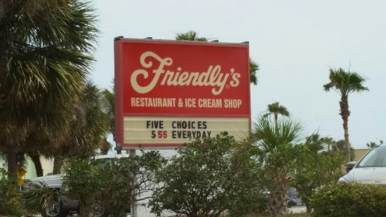 Indialantic, FL: You can't miss the sign for good Ice Cream on the Corner!