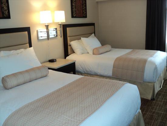 Prince George, Kanada: 2 Double Bed Room
