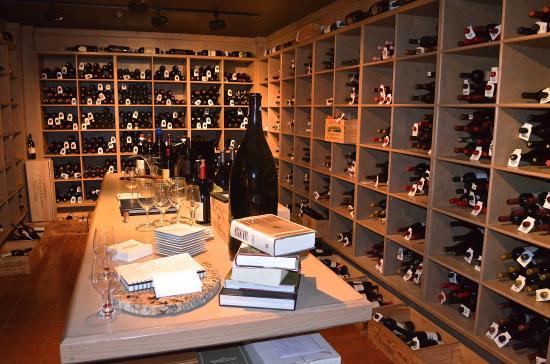 The Coeur d'Alene Resort: One of the resort's wine cellars.