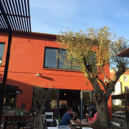 Drogenbos, Belgien: La terrasse...