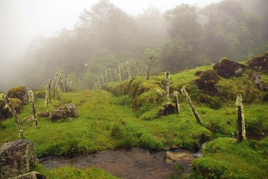 Bajos del Toro, Costa Rica: mystische Landschaft