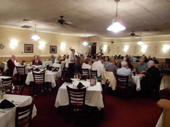 Edgewood, MD: The main dining room.