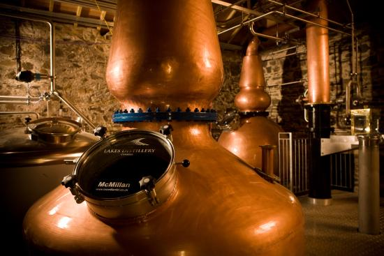 Bassenthwaite, UK: Lakes Distillery Copper Stills