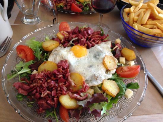 La Chaumieere: Belle salade