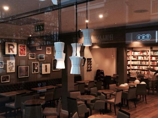 Inside Picture Of Rhode Island Coffee Altrincham