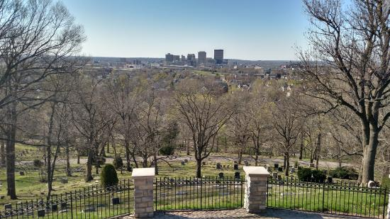 View of Downtown Dayton from the Lookout