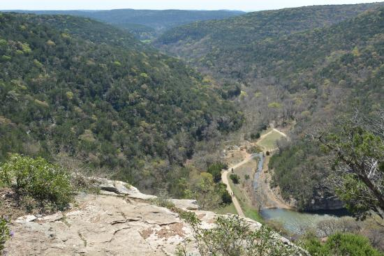 Vanderpool, TX: The view from the edge, East Trail.