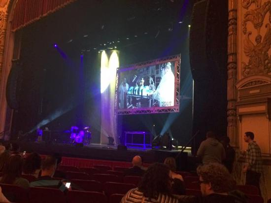 Row J Seats 26 And 28 Picture Of Cadillac Palace Theatre
