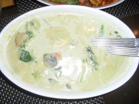 Asia Kitchen : Green Veg Thai Curry