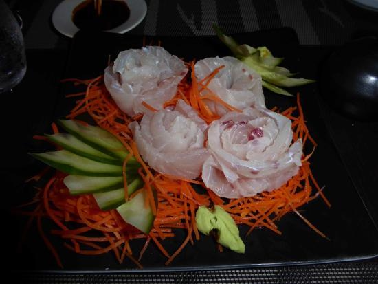 Βόρεια Ατόλη Άρι: Sashimi vom selbst geangelten Fisch