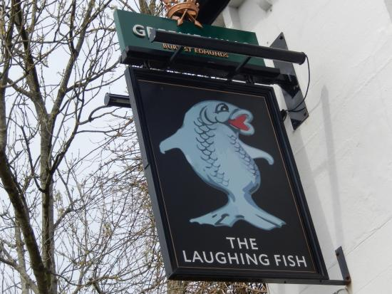 Isfield, UK: Great pub sign