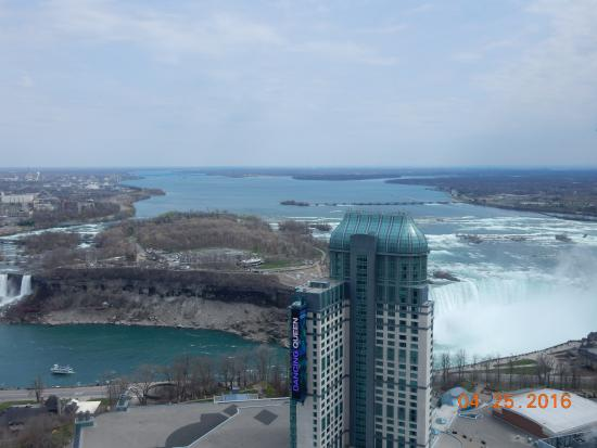 Horseshoe Canadian Falls View From Room Picture Of Hilton