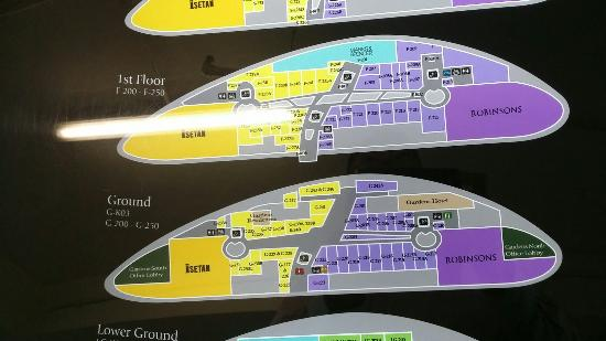 The Gardens Mall Floor Plan 9
