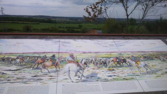 Vouneuil-sur-Vienne, Frankrike: La plaine de la bataille.