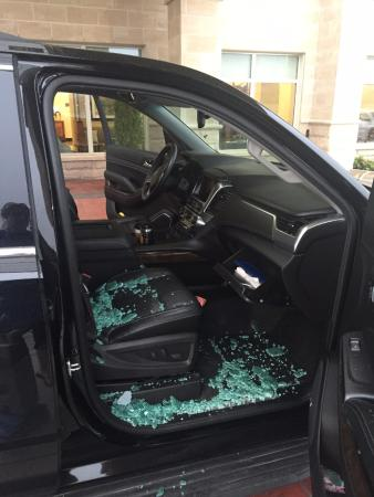 Brentwood, MO: There have been a lot of vehicle break-ins in both the parking garage and parking lot at this ho