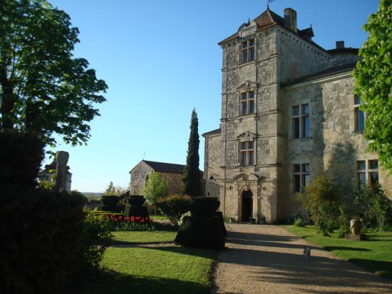 Nerac, France: Chateau and Garden