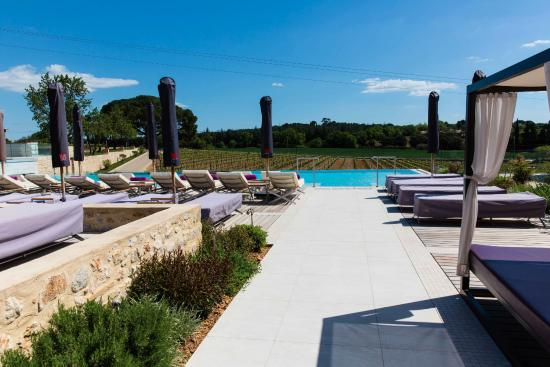 The pool at the spa - Photo de Domaine de Verchant, Castelnau-le ...