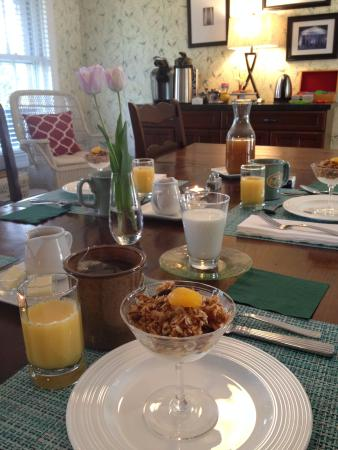 The Hummingbird Inn: fantastic breakfast