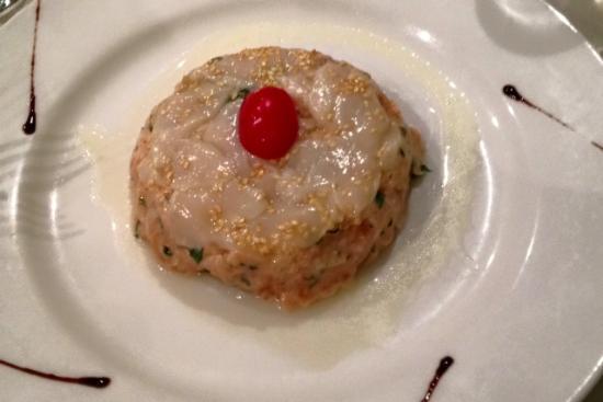 La Bree-les-Bains, Frankrig: rosace saumon et st jacques