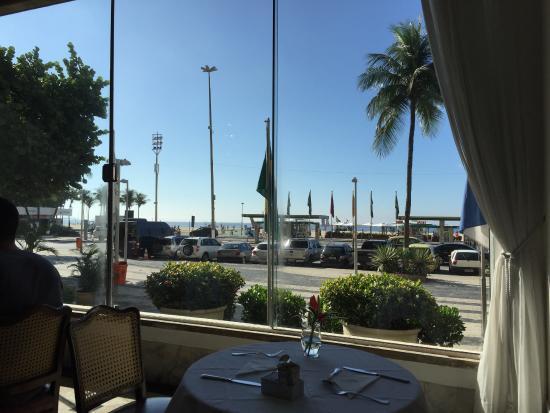 Olinda Rio Hotel: vista dal bar