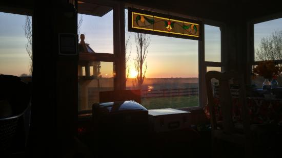 Serenity Ranch Bed and Breakfast: view from sunset cottage
