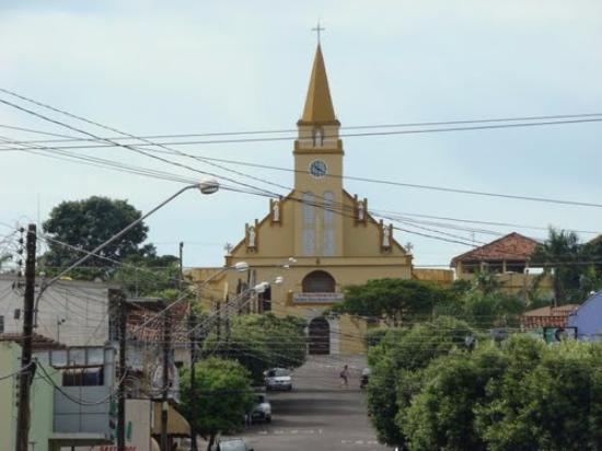 Ponto alto da cidade de tupi paulista