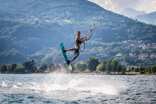 Dongo, Italy: sprung