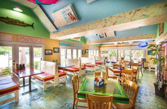 Dining room picture of sanibel fish house sanibel for Sanibel fish house