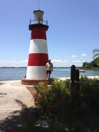 Small Mount Dora Lighthouse Mostly For Promotional Or