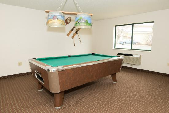 Belle Plaine, Миннесота: Pool table