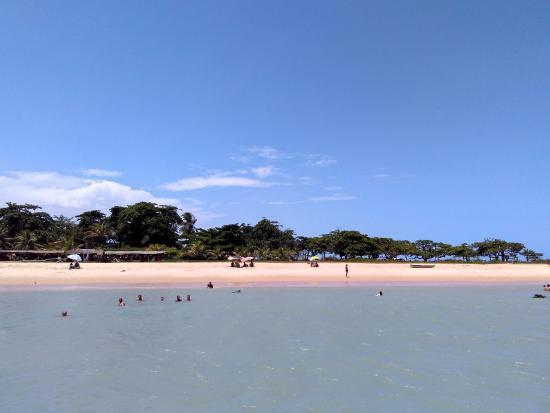 Ponta do Corumbau, divisa de Prado com Porto Seguro.