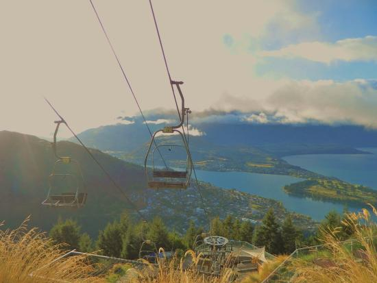 Queenstown, New Zealand: The chairlifts