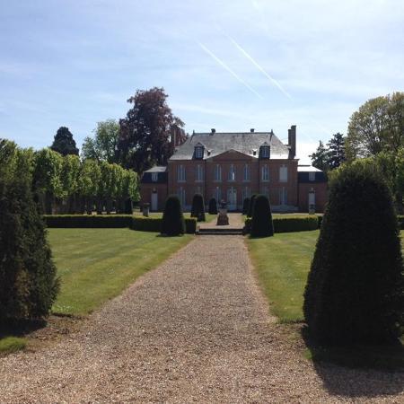 Chateau d'Emalleville : Vue du chateau