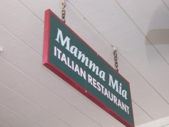 Mamma Mia: Entrance Sign