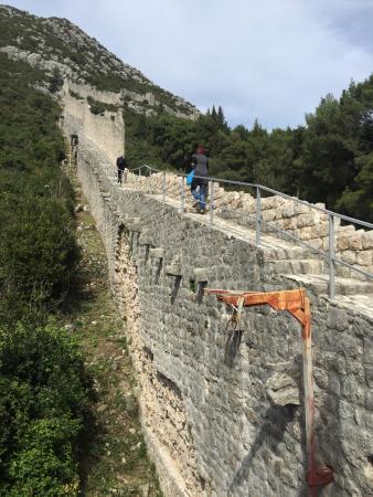Ston, Croacia: Wall